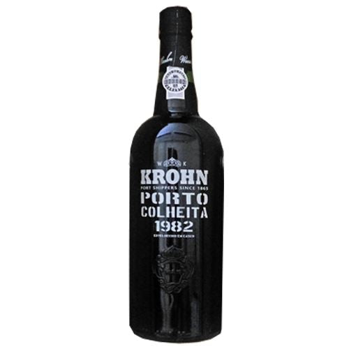 Krohn Colheita 1982 Vintage Tawny Port in Wooden Box 75cl 21% ABV