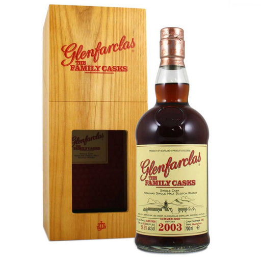 Glenfarclas 2003 Family Cask #102 Summer 2020 Whisky 70cl 57.8% ABV