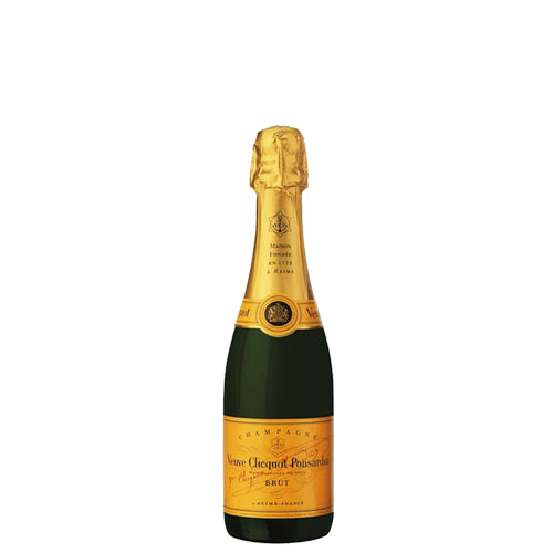 Veuve Clicquot Brut NV Champagne Yellow Label Demi Bottle 37.5cl