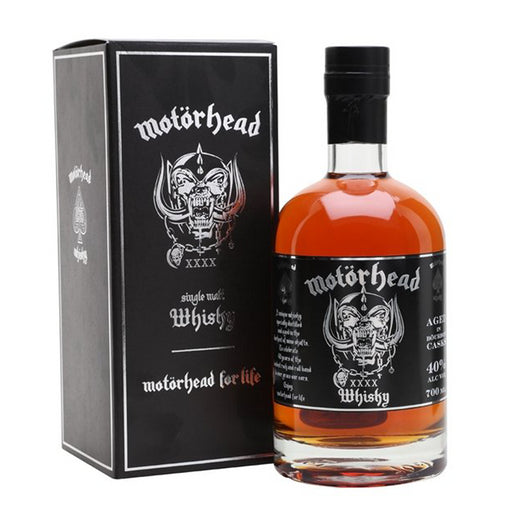 Motorhead Single Malt Whisky 70cl 40% ABV
