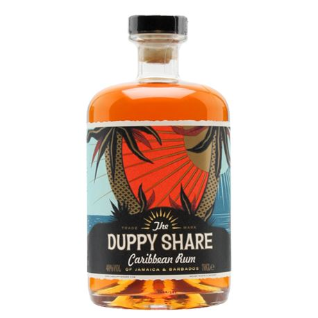 The Duppy Share Caribbean Rum 70cl 40% ABV