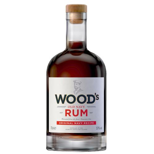 Woods 100 Navy Rum 70cl 57% ABV