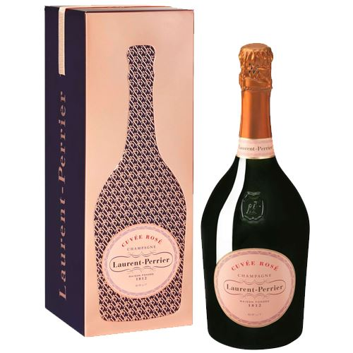 Laurent Perrier Rosé Champagne 75cl Gift Tin
