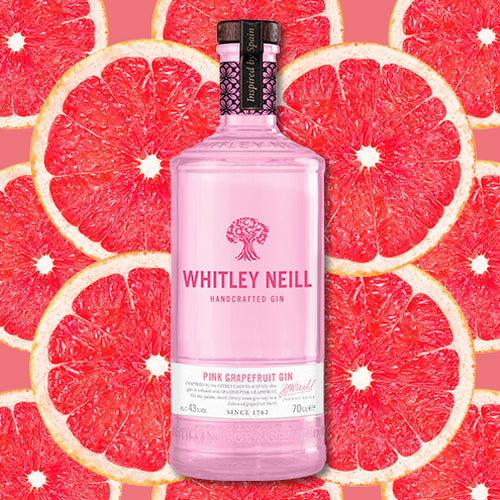 Whitley Neill Pink Grapefruit Gin 70cl 43% ABV
