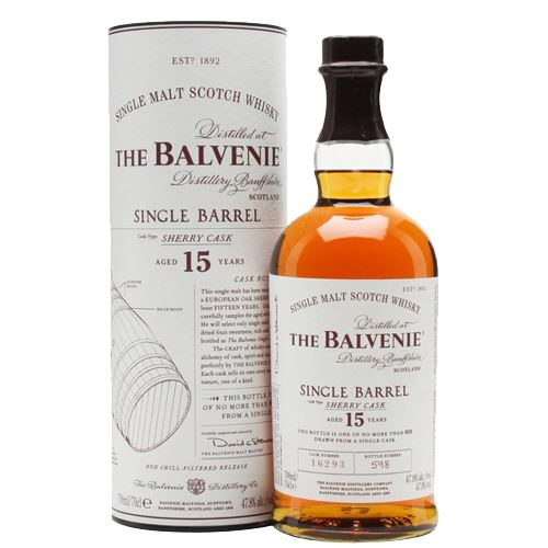 Balvenie Single Barrel 15yo Sherry Cask 70cl 47.8% ABV