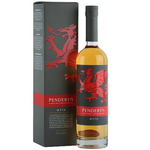 Penderyn Myth Single Malt Welsh Whisky 70cl 41% ABV