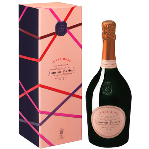 Laurent Perrier Rose Champagne 75cl Gift Box 12% ABV