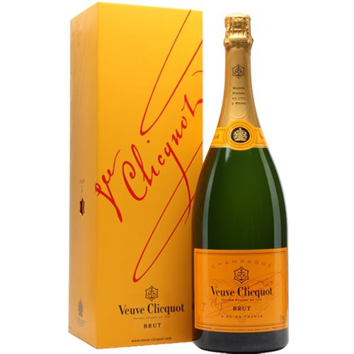 Veuve Clicquot Brut NV Champagne Yellow Label Magnum 150cl Gift Boxed