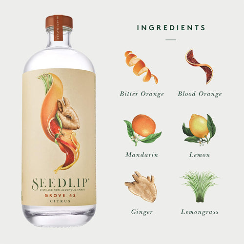Seedlip Grove 42 Non-Alcoholic Spirit 70cl