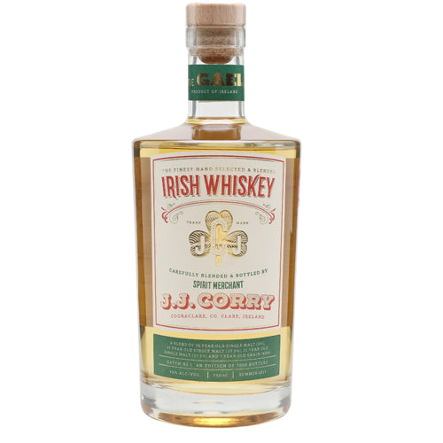 J.J. Corry The Gael Irish Whiskey 75cl 46% ABV