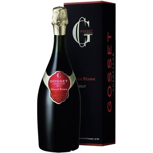 Gosset Grand Reserve Brut Champagne 75cl Gift Box 12% ABV