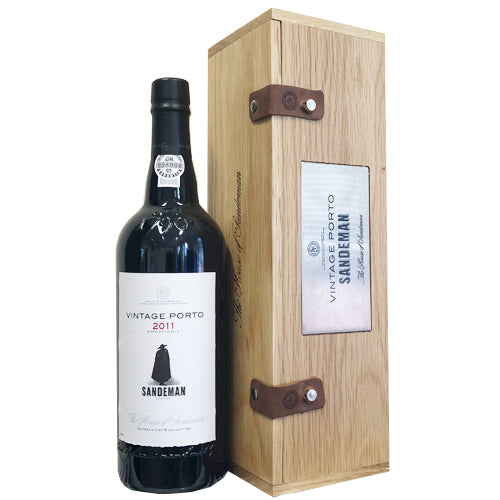 Sandeman Vintage Port 2011 in Wooden Gift Box 75cl 21% ABV