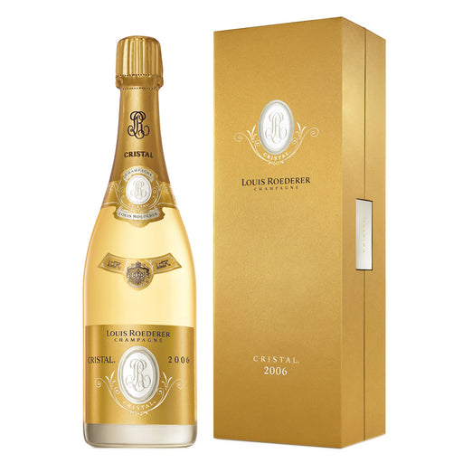 Louis Roederer Cristal 2006 Vintage Champagne 75cl Gift Boxed