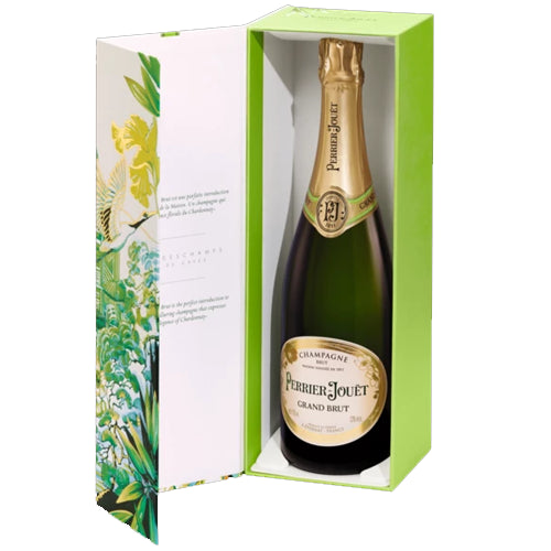 Perrier Jouet Grand Brut Champagne 75cl Tokyo Gift Boxed 12% ABV