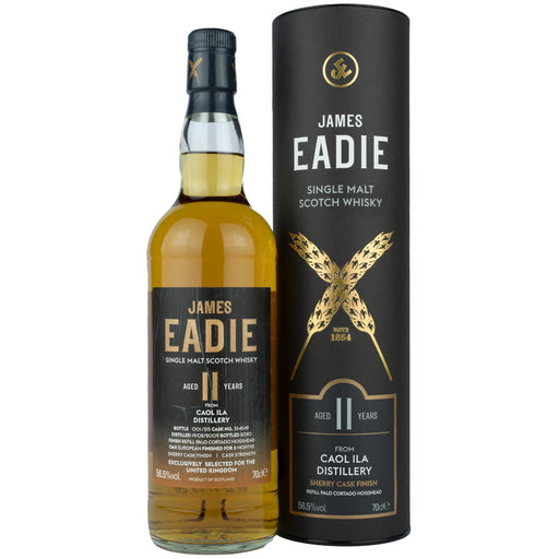 James Eadie Caol Ila 11 Year Old Sherry Cask Finish Whisky 70cl 56.5% ABV