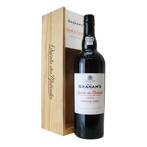 W & J Graham's Quinta dos Malvedos 2008 in Wooden Gift Box 75cl