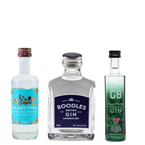 English Miniature Gin Selection 3x5cl