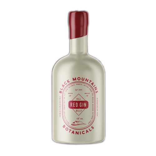 Black Mountain Botanicals Hill Billy Red Gin 50cl 38% ABV