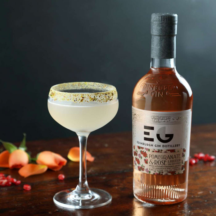Edinburgh Gin Pomegranate and Rose Liqueur 50cl 20% ABV