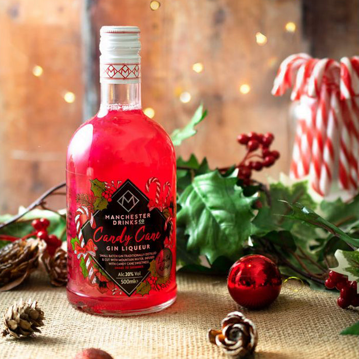 Manchester Drinks Co Candy Cane Gin Liqueur 50cl 20% ABV