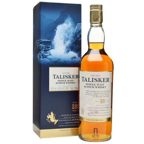 Talisker 18yo Single Malt Scotch Whisky  70cl 45.8% ABV