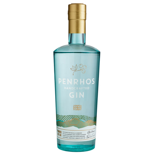 Penrhos Dry Gin 70cl with Free Miniature
