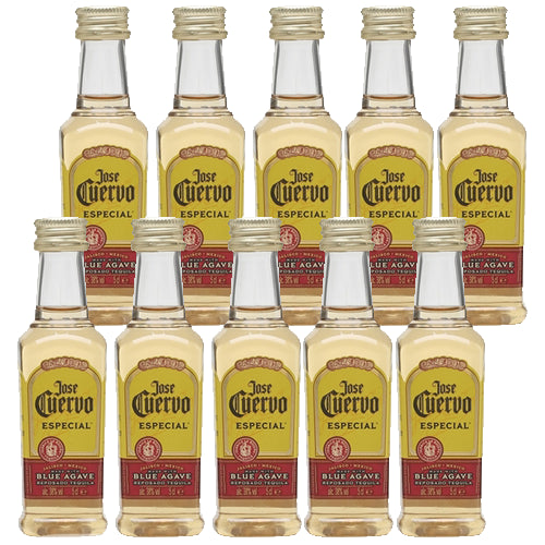 Jose Cuervo Gold Especial Tequila 5cl Miniature Case of 10