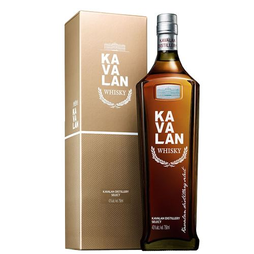 Kavalan Distillery Select Whisky Gift Boxed 70cl 40% ABV