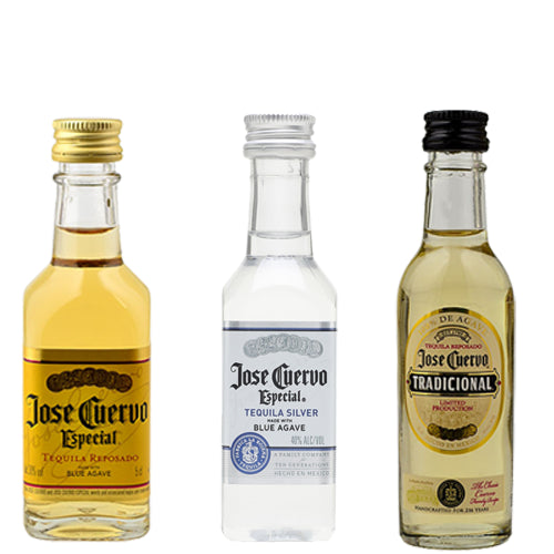 Jose Cuervo Mini Tequila Collection 3 x 5cl