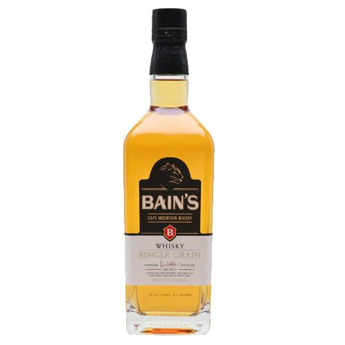 Bains Single Grain Whisky 70cl 40% ABV
