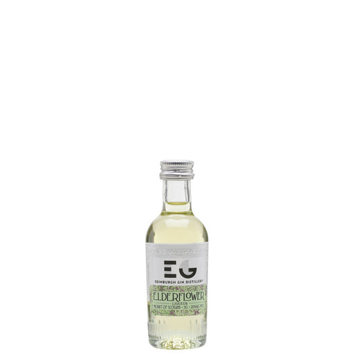 Edinburgh Gin Elderflower Liqueur 5cl Miniature 20% ABV
