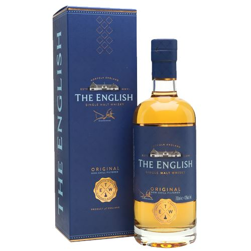 The English Original Single Malt Whisky 70cl 43% ABV