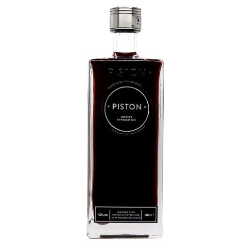 Piston Coffee Infused Dry Gin 70cl 42%