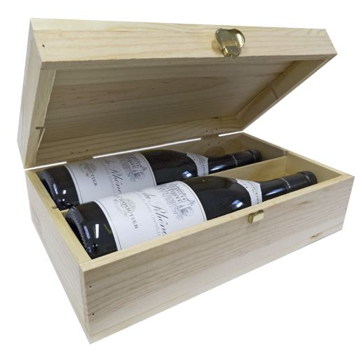 M. Chapoutier Cotes-du-Rhone Duo Gift Set in branded Wooden Box 2 x 75cl