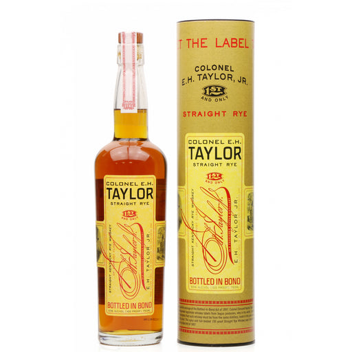E.H. Taylor Straight Rye 75cl 50% ABV