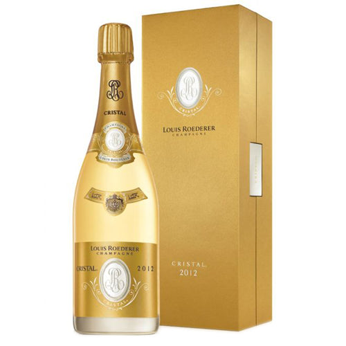 Louis Roederer Cristal 2012 Vintage Champagne 75cl Gift Boxed
