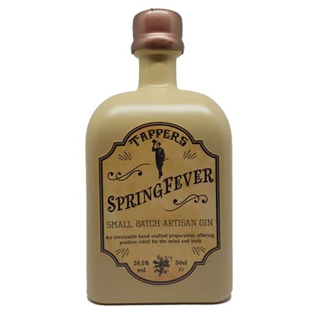 Tappers Springfever Small Batch Artisan Gin 50cl 38.5% ABV