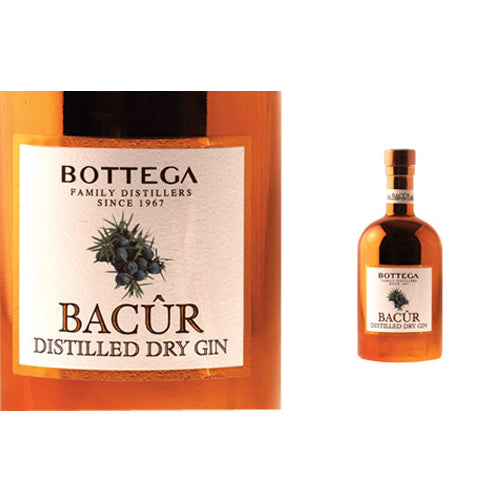 Bottega Bacur Gin 70cl 40% ABV