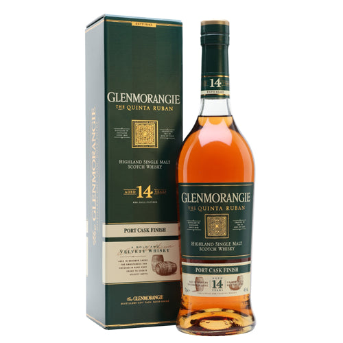 Glenmorangie Quinta Ruban 14 Year Old Scotch Whisky 70cl Gift Boxed