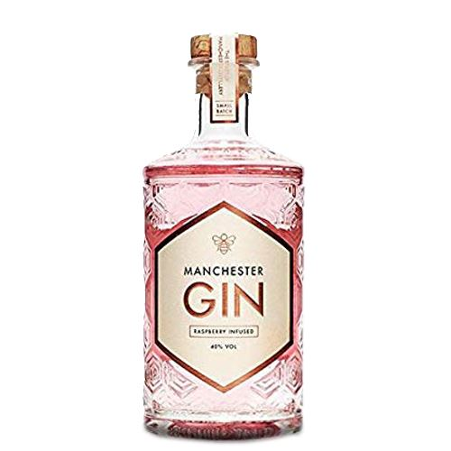 Manchester Raspberry Infused Gin 50cl 40% ABV