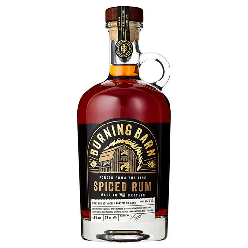 Burning Barn Spiced Rum 70cl 40% ABV