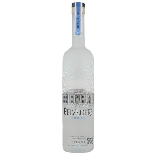 Belvedere Pure Vodka 6 Litre Limited Edition Illuminated Bottle 40% ABV