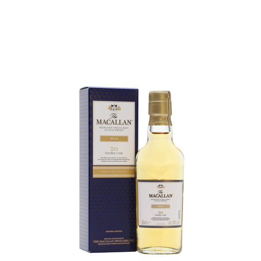 Macallan Double Cask Gold Single Malt Whisky 5cl 40% ABV