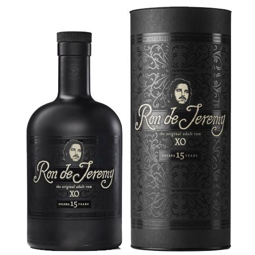 Ron de Jeremy XO Rum 70cl in Gift Tube 40% ABV