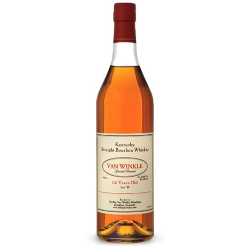 "Van Winkle 12 Year Old Special Reserve Lot ""B"" Bourbon 75cl 45.2% ABV"