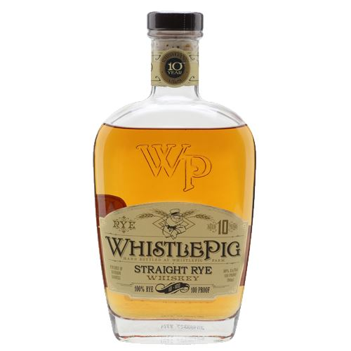 WhistlePig 10 Year Old Straight Rye Whiskey 70cl 50% ABV