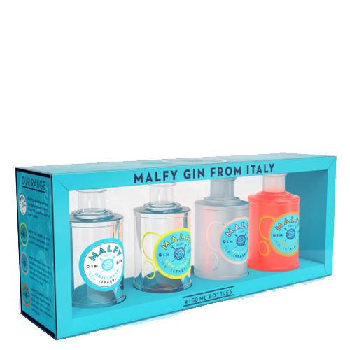 Malfy Gin Gift Pack 4x5cl 41% ABV