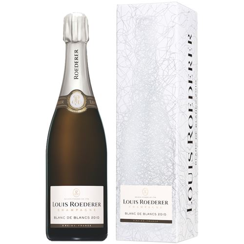 Louis Roederer Blanc De Blancs 2010 75cl Gift Boxed Champagne