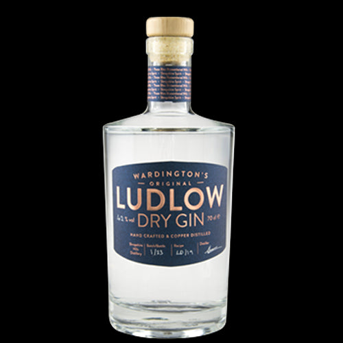 Ludlow NO.1 Dry Export Strength Gin 70cl 52% ABV