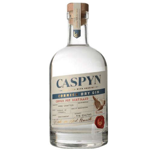 Caspyn Cornish Dry Gin 70cl 40% ABV